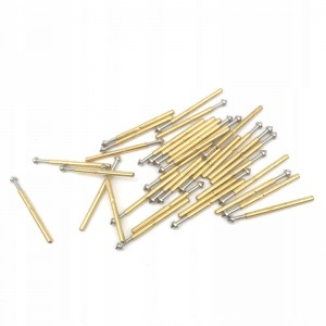 POGO PIN P75-E2 1.02mm 100g gold-pin bez lutowania